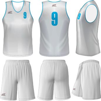 A Plain Basketball Uniform a88c413e28eb