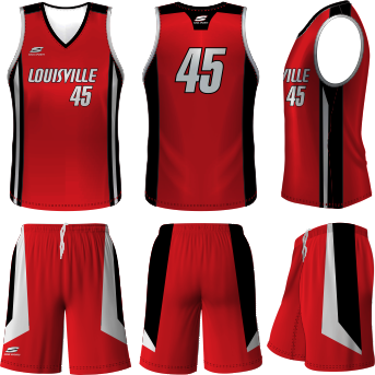 Louisville Basketball Uniform #2: item graphic store9414 image343