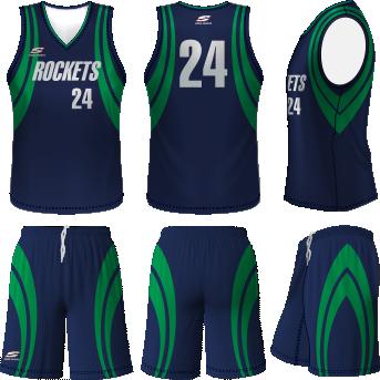 75d9ba3bb2d Rockets Basketball Uniform