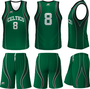 online store 63577 b6e57 Celtics Basketball Uniform